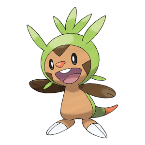 Chespin Official Artwork