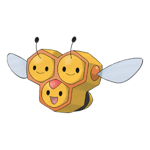 Combee Official Artwork
