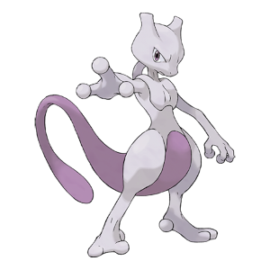 Mewtwo Official Artwork