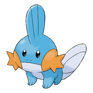 Mudkip Official Artwork