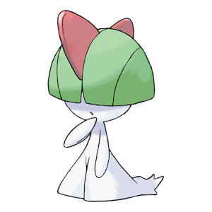 Ralts Official Artwork