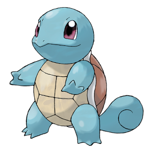 Squirtle Official Artwork