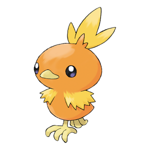 Torchic Official Artwork