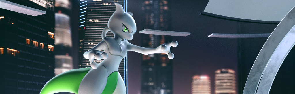 Mewtwo Feature by LEGENDSLima