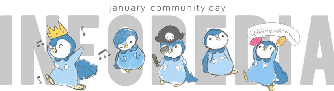 January Community Day Header - Piplup by MT of G2G