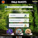 Tricky Pokémon Event Field Quests by OrangeHeart