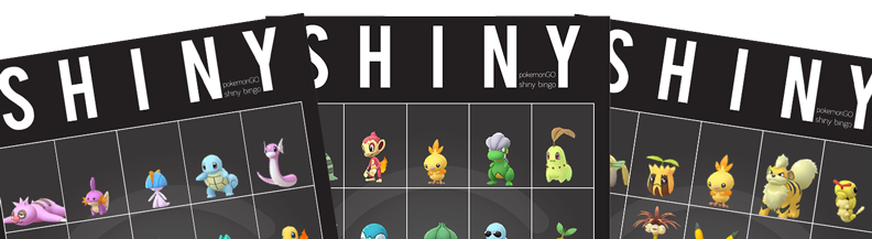 G2G Shiny Bingo Header Graphic