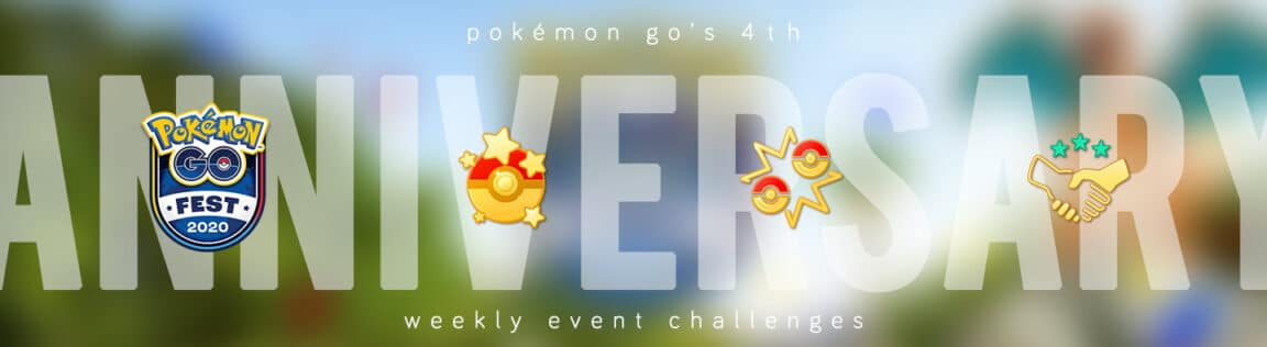 Pokémon GO's 4th Anniversary Celebration Event