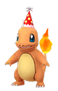 Party Hat Charmander Cropped