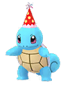 Party Hat Squirtle Cropped
