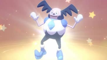 Galarian Mr. Mime Header from Sword & Shield