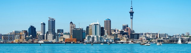 Auckland Section Header